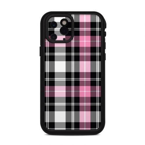Pink Plaid Lifeproof iPhone 11 Pro fre Case Skin