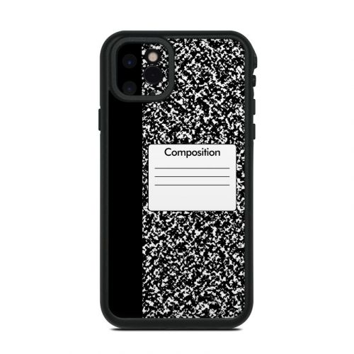 Composition Notebook Lifeproof iPhone 11 Pro Max fre Case Skin