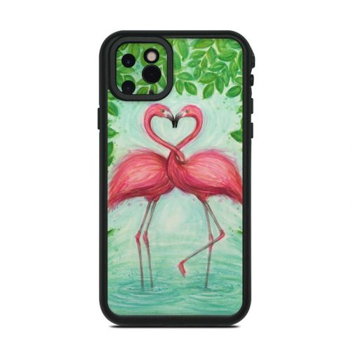 Flamingo Love Lifeproof iPhone 11 Pro Max fre Case Skin