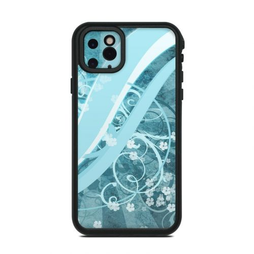 Flores Agua Lifeproof iPhone 11 Pro Max fre Case Skin
