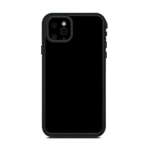 Solid State Black Lifeproof iPhone 11 Pro Max fre Case Skin