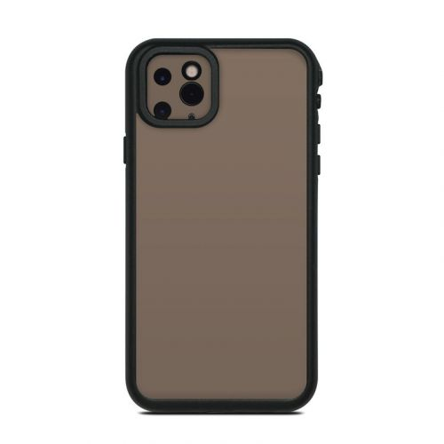 Solid State Flat Dark Earth Lifeproof iPhone 11 Pro Max fre Case Skin