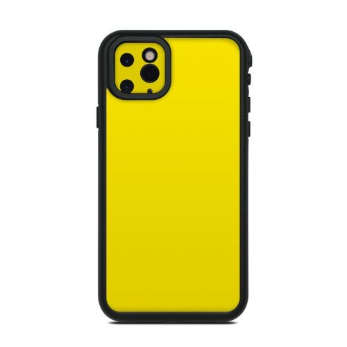 Solid State Yellow Lifeproof iPhone 11 Pro Max fre Case Skin