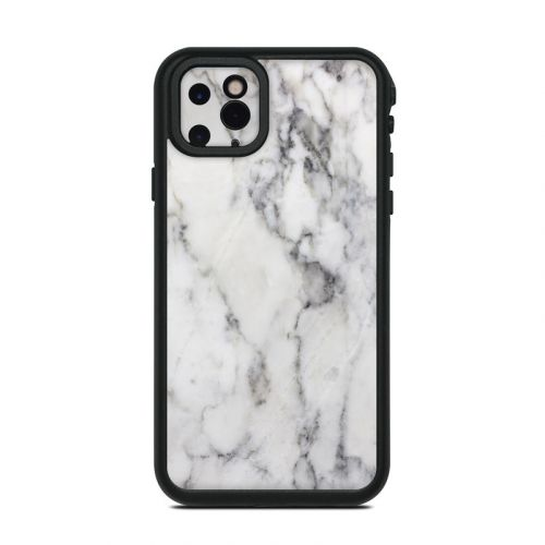 White Marble Lifeproof iPhone 11 Pro Max fre Case Skin