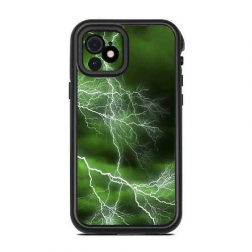 Apocalypse Green Lifeproof iPhone 12 fre Case Skin