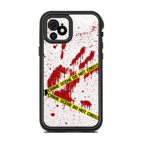 Crime Scene Revisited Lifeproof iPhone 12 fre Case Skin