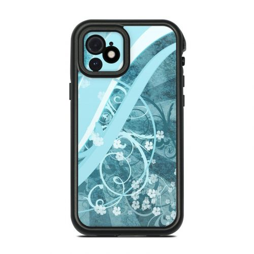 Flores Agua Lifeproof iPhone 12 fre Case Skin