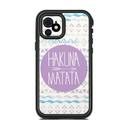 Hakuna Matata Lifeproof iPhone 12 fre Case Skin