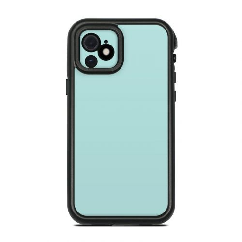 Solid State Mint Lifeproof iPhone 12 fre Case Skin