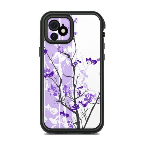 Violet Tranquility Lifeproof iPhone 12 fre Case Skin