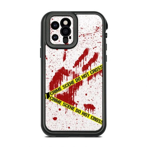Crime Scene Revisited Lifeproof iPhone 12 Pro fre Case Skin