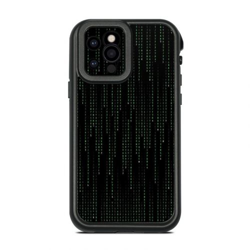 Matrix Style Code Lifeproof iPhone 12 Pro fre Case Skin