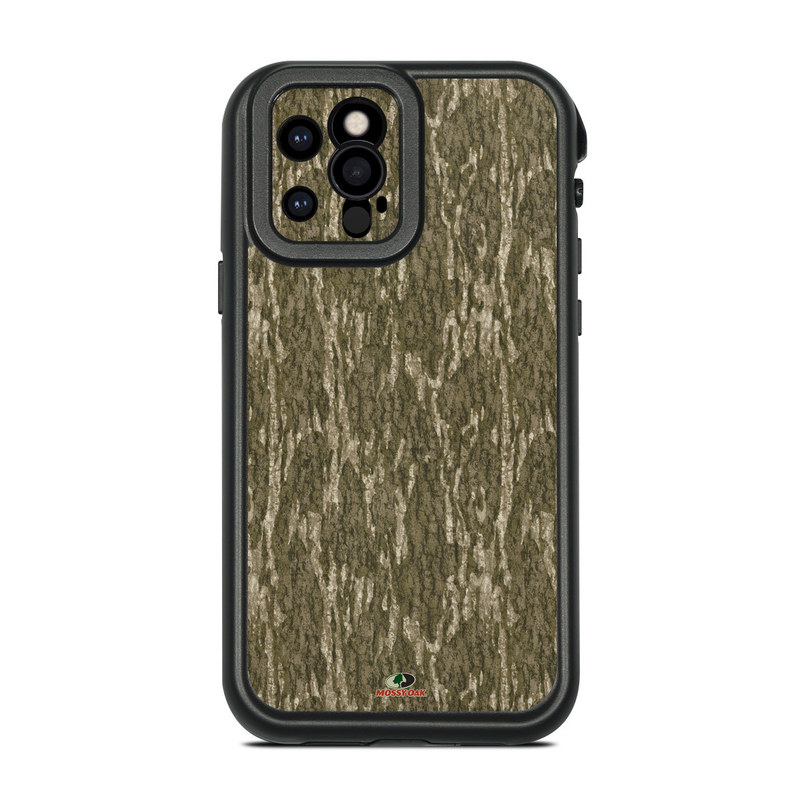 Lifeproof iPhone 12 Pro fre Case Skin design of Grass, Brown, Grass family, Plant, Soil with black, red, gray colors