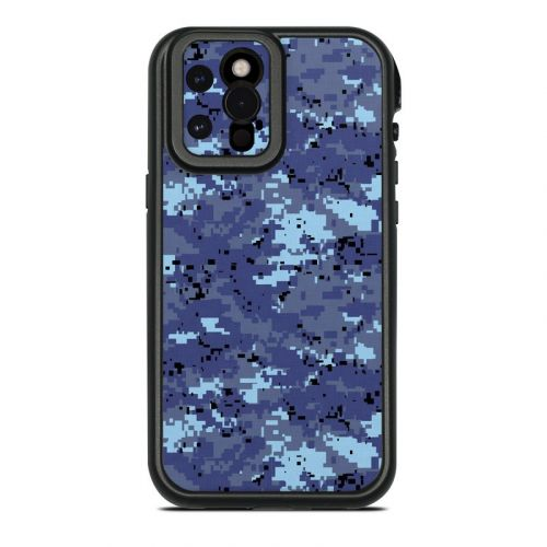Digital Sky Camo Lifeproof iPhone 12 Pro Max fre Case Skin