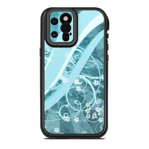 Flores Agua Lifeproof iPhone 12 Pro Max fre Case Skin