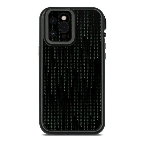 Matrix Style Code Lifeproof iPhone 12 Pro Max fre Case Skin