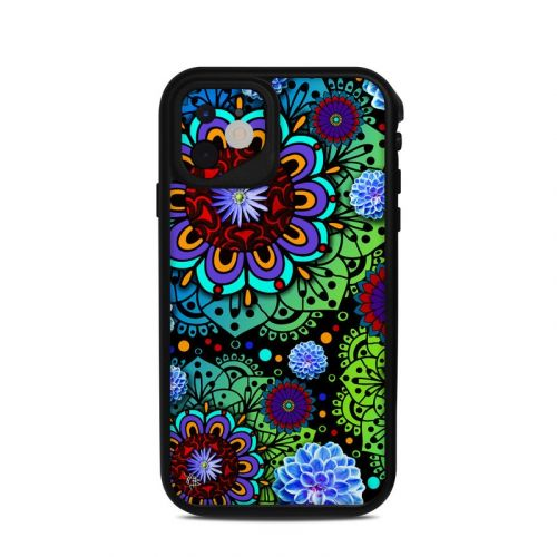 Funky Floratopia Lifeproof iPhone 11 fre Case Skin