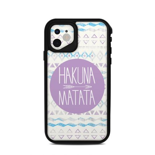 Hakuna Matata Lifeproof iPhone 11 fre Case Skin
