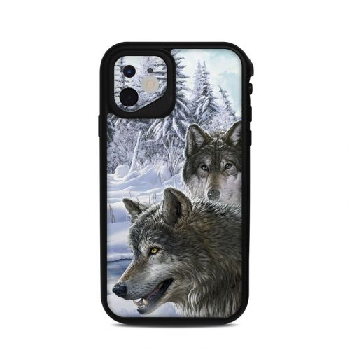 Snow Wolves Lifeproof iPhone 11 fre Case Skin