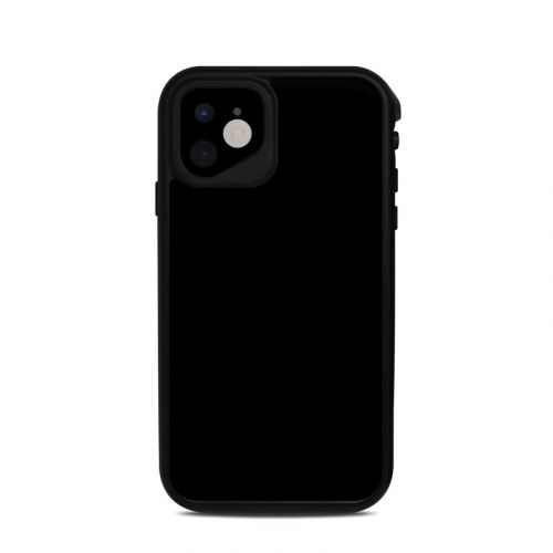 Solid State Black Lifeproof iPhone 11 fre Case Skin