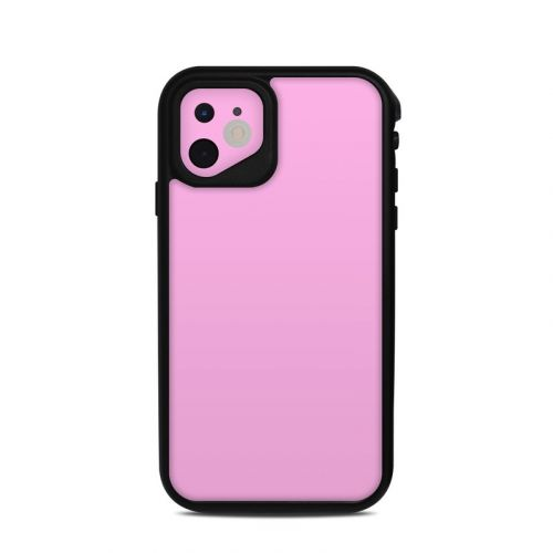Solid State Pink Lifeproof iPhone 11 fre Case Skin