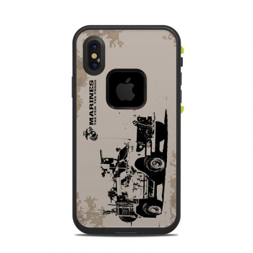 Artillery LifeProof iPhone X fre Case Skin