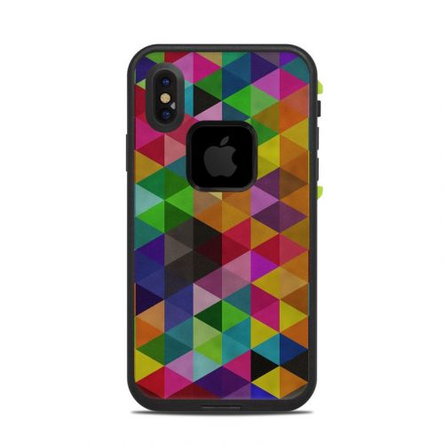 Connection LifeProof iPhone X fre Case Skin