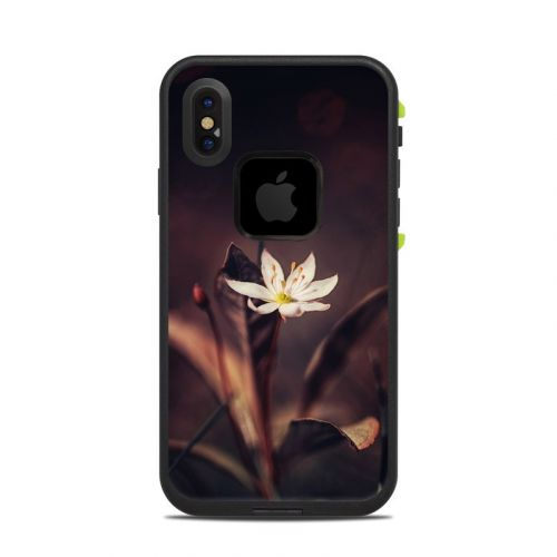 Delicate Bloom LifeProof iPhone X fre Case Skin