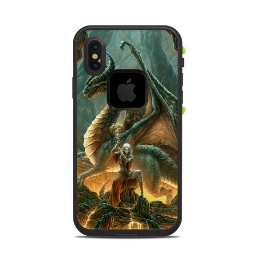 Dragon Mage LifeProof iPhone X fre Case Skin