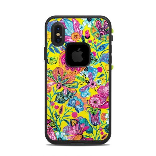 Endless Garden LifeProof iPhone X fre Case Skin