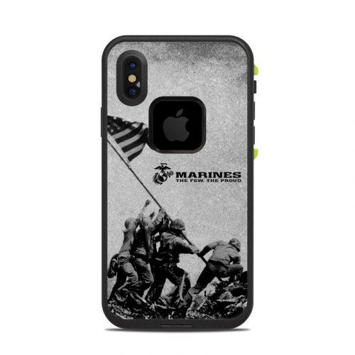 Flag Raise LifeProof iPhone X fre Case Skin
