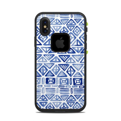 Gem Geo LifeProof iPhone X fre Case Skin
