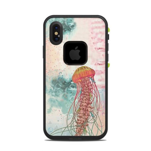 Jellyfish LifeProof iPhone X fre Case Skin