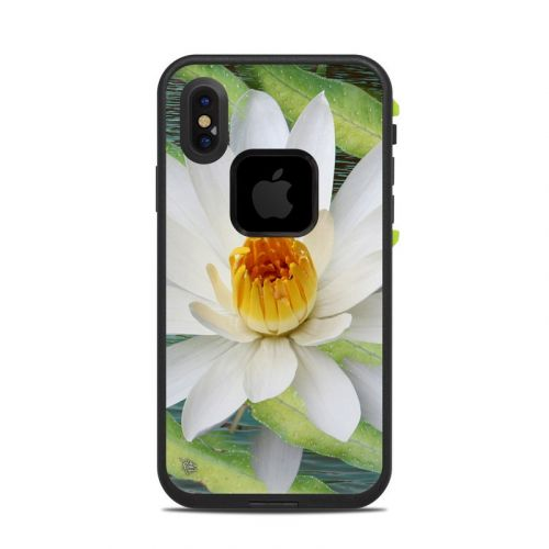 Liquid Bloom LifeProof iPhone X fre Case Skin