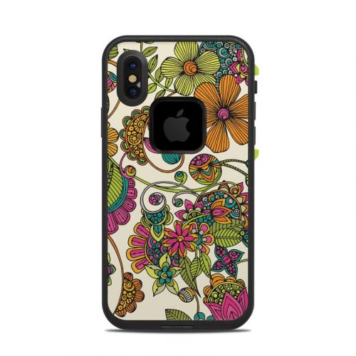 Maia Flowers LifeProof iPhone X fre Case Skin