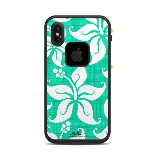 Mea Aloha LifeProof iPhone X fre Case Skin