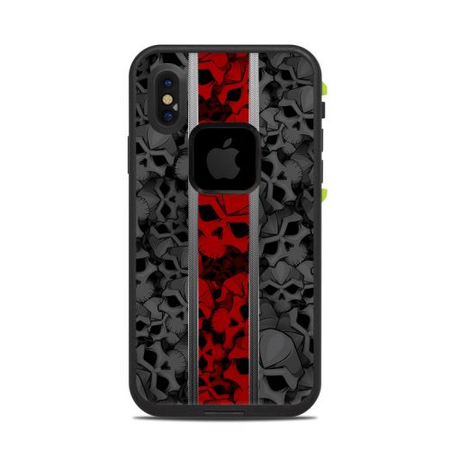 Nunzio LifeProof iPhone X fre Case Skin