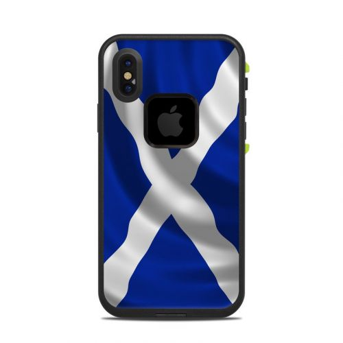 St. Andrew's Cross LifeProof iPhone X fre Case Skin