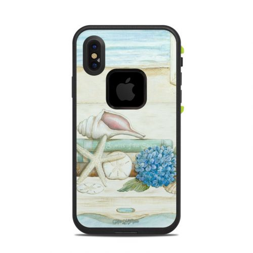 Stories of the Sea LifeProof iPhone X fre Case Skin