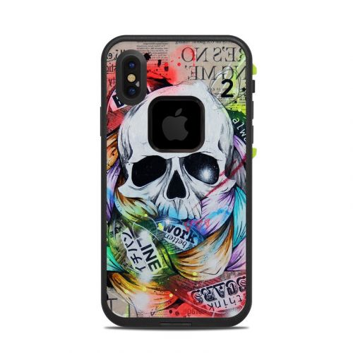 Visionary LifeProof iPhone X fre Case Skin