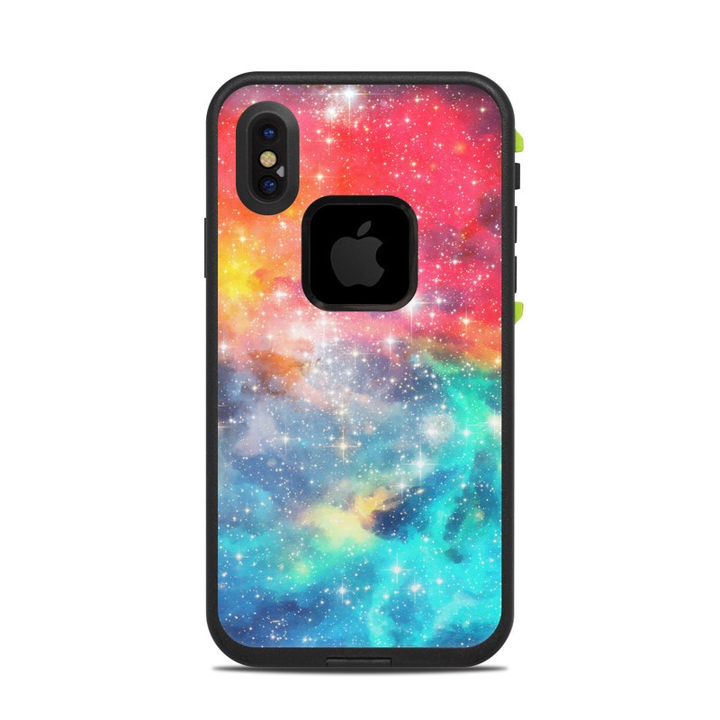 Galactic LifeProof iPhone X fre Case Skin