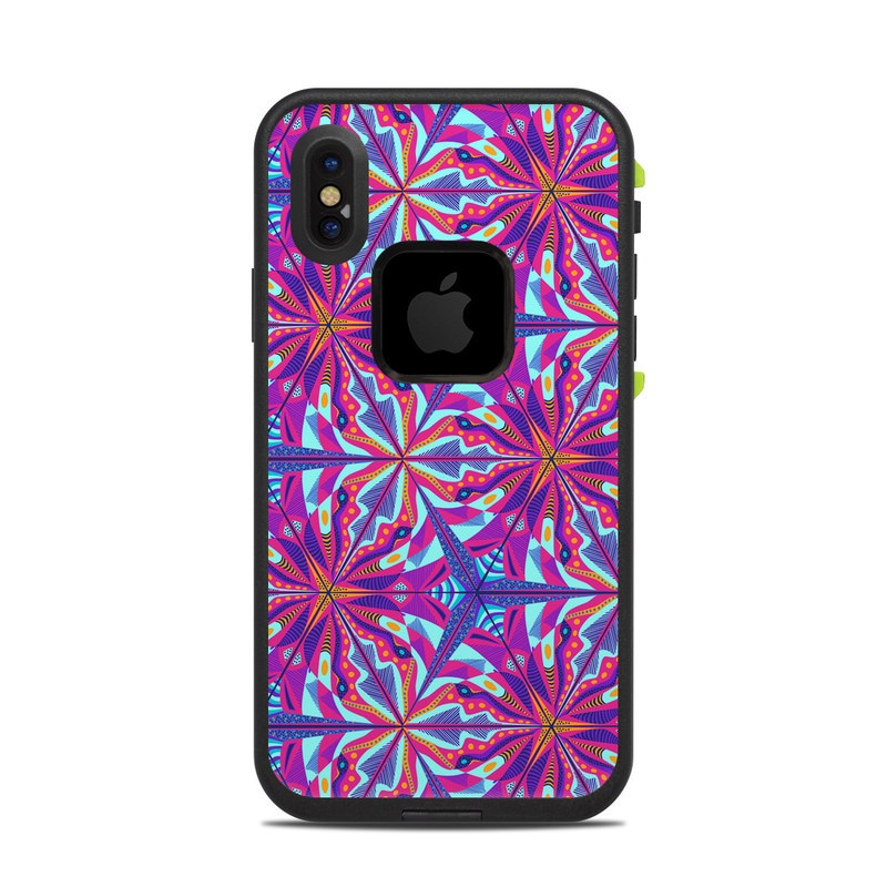 London Tube LifeProof iPhone X fre Case Skin