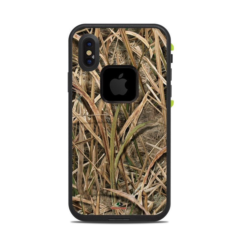 Shadow Grass Blades LifeProof iPhone X fre Case Skin