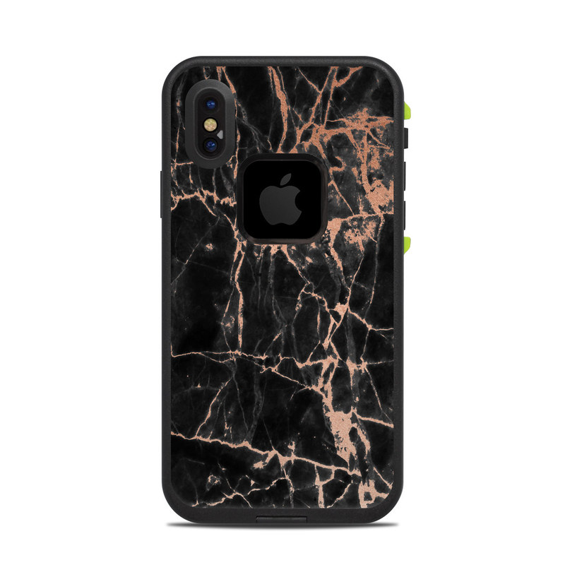 Rose Quartz Marble LifeProof iPhone X fre Case Skin