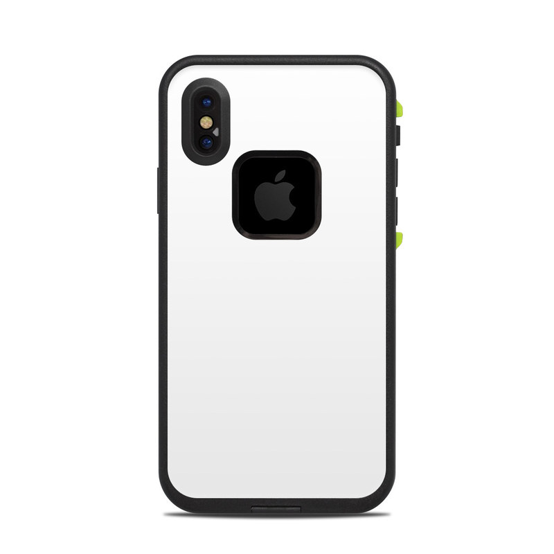 Solid State White Lifeproof Iphone X Fre Case Skin Istyles