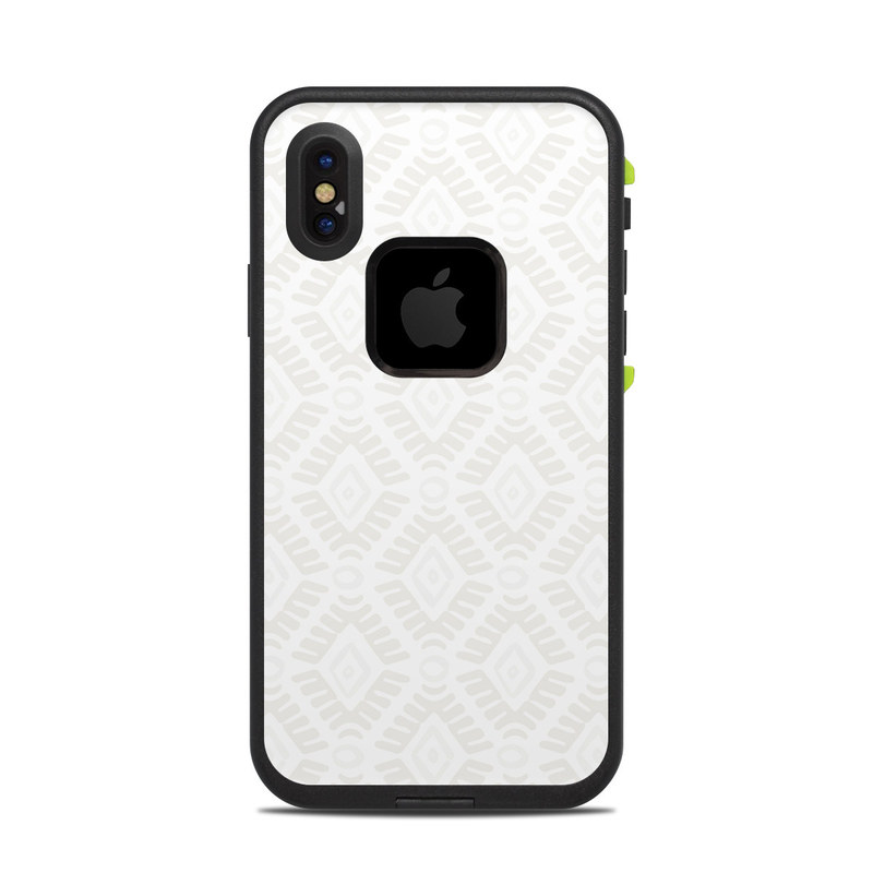 Stamped Diamond Lifeproof Iphone X Fre Case Skin