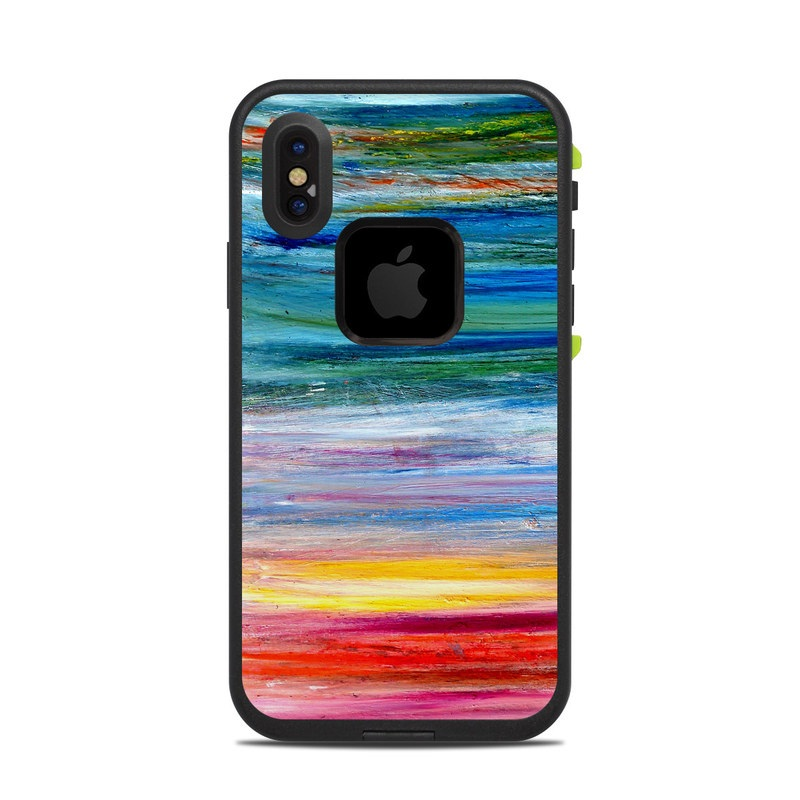 timeless design fcf51 415d2 Waterfall LifeProof iPhone X fre Case Skin