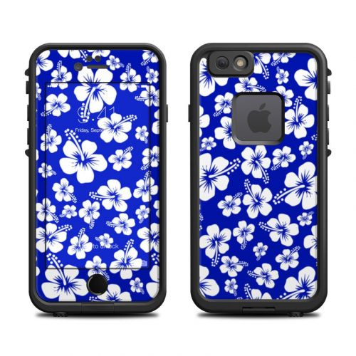 Aloha Blue LifeProof iPhone 6s fre Case Skin