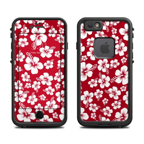 Aloha Red LifeProof iPhone 6s fre Case Skin