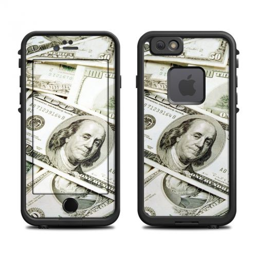 Benjamins LifeProof iPhone 6s fre Skin